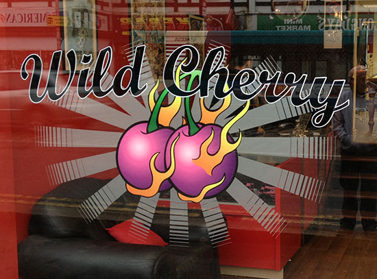 Wild Cherry Signs and Display