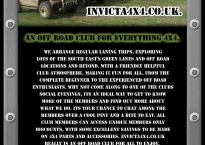 Promotional 4×4 Event Flyer